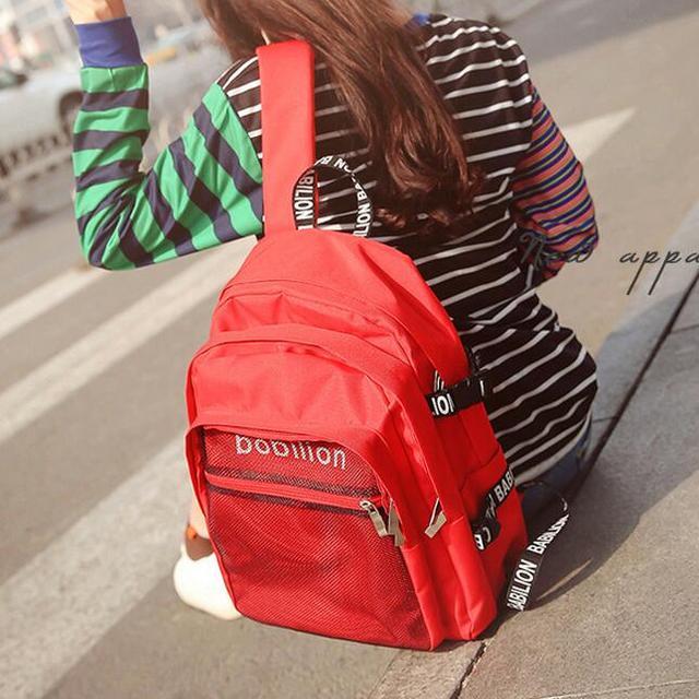 开学了开学了,背着书包上学去咯,新学期要有新书包哦